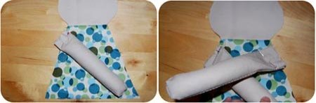 sew arms on doll