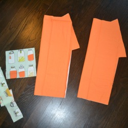 apron pattern pieces