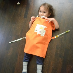 apron toddler pattern