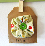 baby hairclip holly