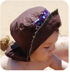 baby hat sew