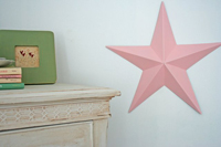 baby room decor star