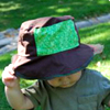 baby sun hat pattern