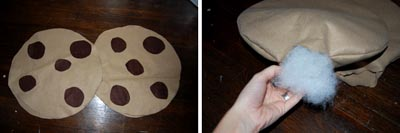 cookie costume pattern