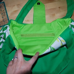 diaper bag zipper