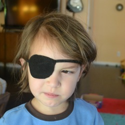 eye patch pattern