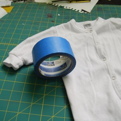 fabric spray paint tape