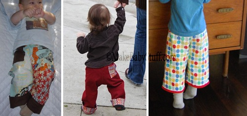free baby pants pattern