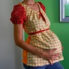 free maternity shirt pattern