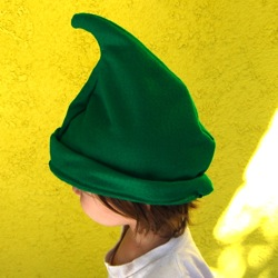 handmade elf hat