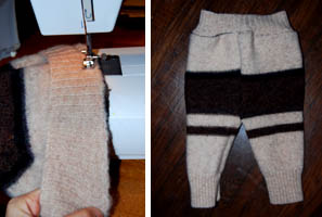 handmade wool diaper cover