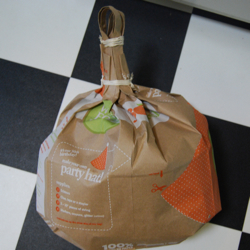 homemade pumpkin pinata