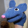 homemade toy puppet