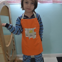 kid apron pattern