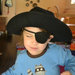 kids pirate patch
