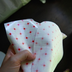 laminated cotton for bibs