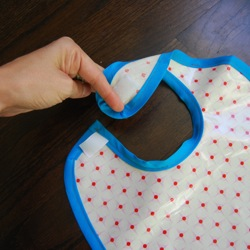 make a baby bib
