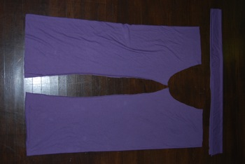 materity pants pattern pieces