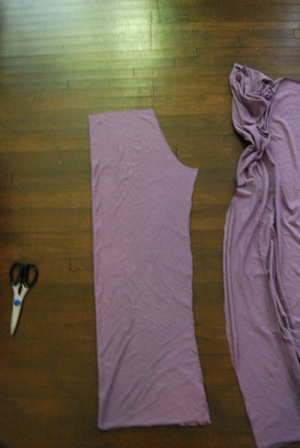 materity yoga pants pattern