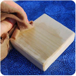 Natural Wood Finishes for Plain Wood or For Sealing Painted Toys