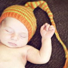 newborn long tail hat winner