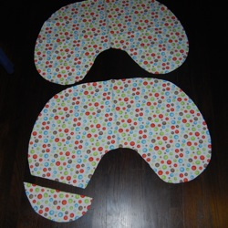 nursing pillow pattern pieces