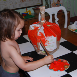 pumpkin pinata instructions