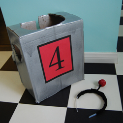 robot costume toddler