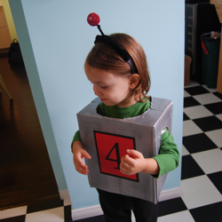 robot halloween costume toddler