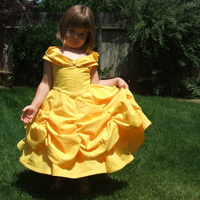 costume belle & Tinkerella Creations Crafty Mama Feature