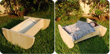 18 Inch Doll Bed Patterns by Esther
