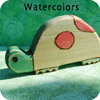 watercolors paint