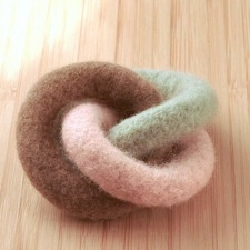 wool teether