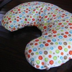 Notice how it fits just fine on my Boppy but is ever so slightly baggy? Totally functional this way but it is meant for my own nursing pillow pattern. & Free Nursing Pillow Pattern and Breastfeeding Pillow Slipcover ... pillowsntoast.com