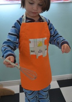 free apron pattern children