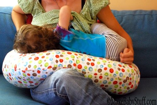 nursing pillow pattern