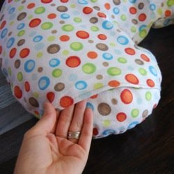 nursing pillow slipcover pattern