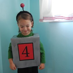 robot halloween costume tutorial
