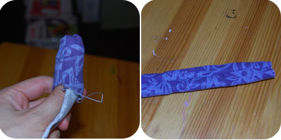 baby headband sewing