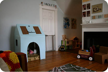 playhouse in room