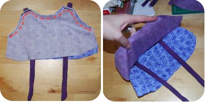 baby dress bodice sew