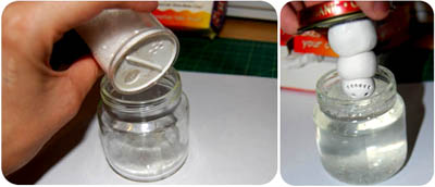 baby food jar crafts glitter