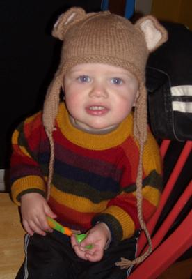 Z in Bear Hat!
