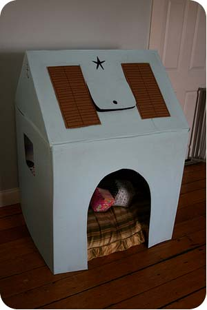 cardboard playhouse