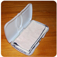 cloth wipes case