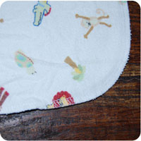 rounded edge cloth diaper wipes