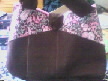 Dark Brown Main Body, Pink Lining, Brown and Pink Paisley Panel