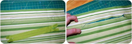 diaper bag zipper instructions