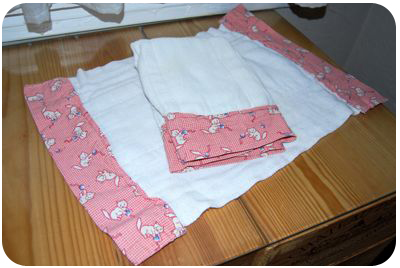 diaper burp cloth