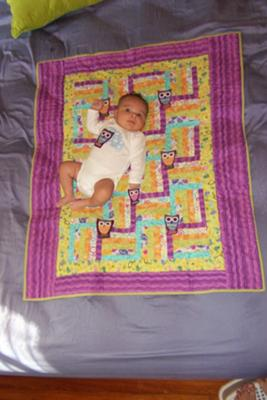Baby Jocund's Owly Quilt